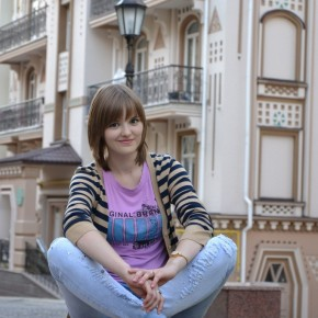 """Аня Бабичевская: """"Не унывать и не замыкаться в себе!!!"""""""