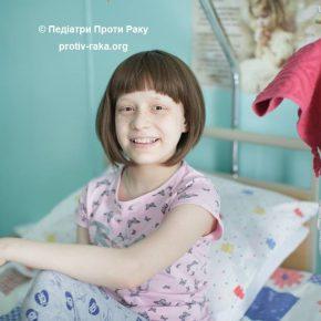 Ендопротез – мрія 12-річної Шелег Ангелінки, яка перемогла остеогенну саркому