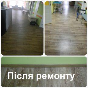 Закінчено ремонт у дитячому відділенні КМКОЦ. Результати.