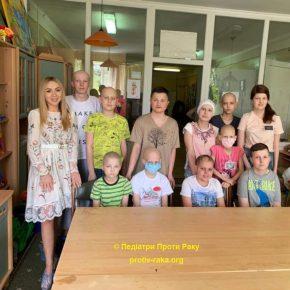 День захисту дітей та Cancer Survivors Day в дитячому відділенні КМКОЦ