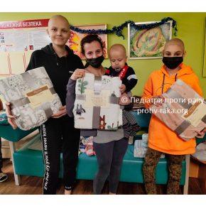 Висловлюємо щиру подяку ТОВ «Британська міжнародна школа – Київ» за допомогу онкохворим дітям!