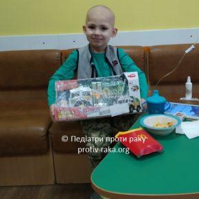 Щира подяка за створений новорічний настрій для онкохворих дітей